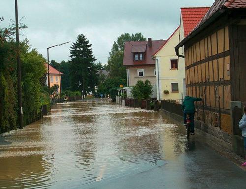 Bautrocknung nach Wasserschaden